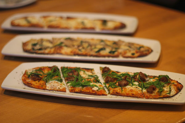 California Pizza Kitchen Shaved Mushroom Spinach Flatbread