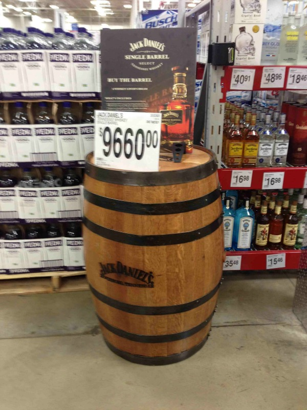 Sams Club Will Actually Sell You An Entire Barrel Of Jack