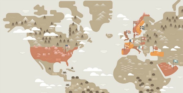 coffee-world-map