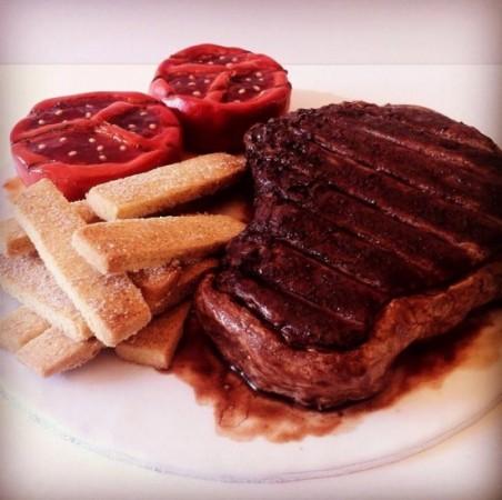 steak-cake