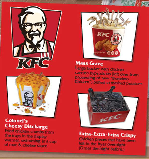 my favourite food kentucky fried chicken essays In 1991 kentucky fried chicken bigwigs decided to improve the image of america's third-largest fast-food chain as a more health-conscious society began to affect sales of fried chicken, the company changed its name to kfc and introduced a lighter fare of skinless chicken.