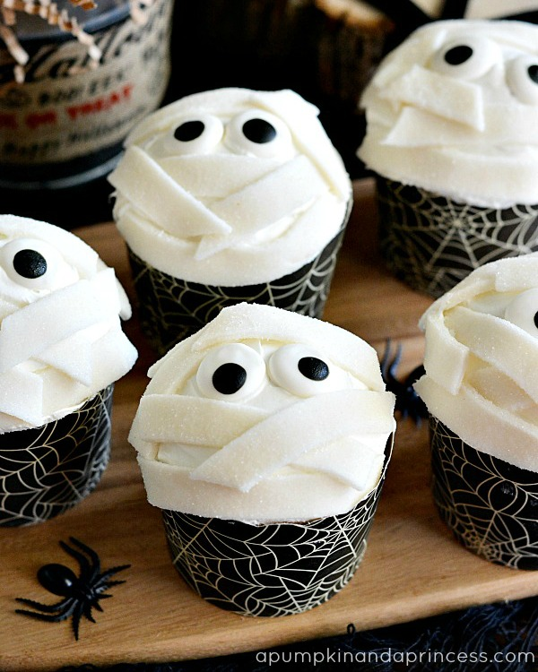 Mummy-Cupcakes