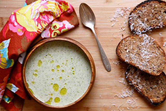 Vegan Cream of Broccoli Soup