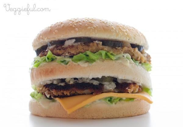 vegan vegetarian big mac recipe