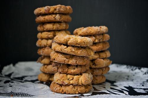 PB Bacon Cookies