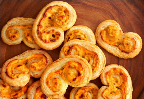 How to Make Sriracha Palmiers with Cream Cheese