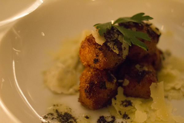 Truffle Mushroom Croquette
