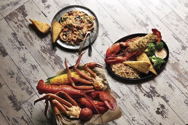 lobster spaghetti crab stuffed lobster joe's crab shack