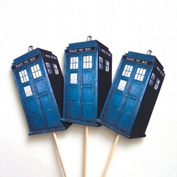 50 Doctor Who Themed Party Snacks Drinks And Favors For