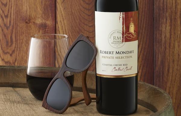 Robert Mondavi Wine Barrel Sunglasses