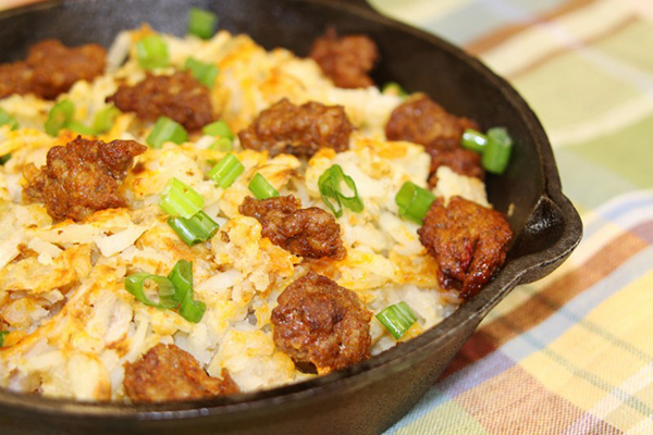 Chorizo Hashbrowns