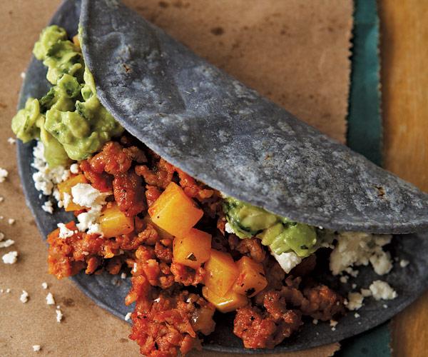 Chorizo Taco Black