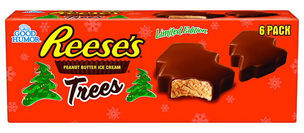 Reese's Releases Christmas Tree-Shaped Peanut Butter Cups Filled ...