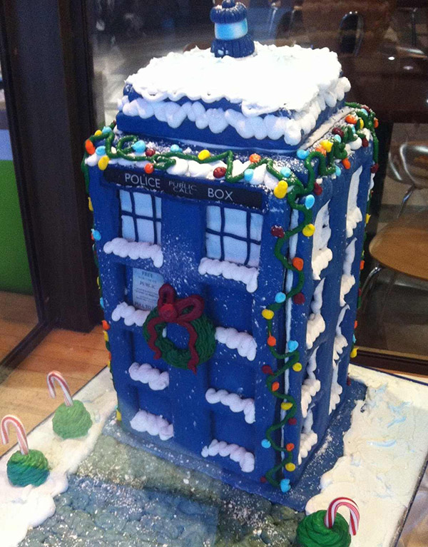 gingerbread-tardis