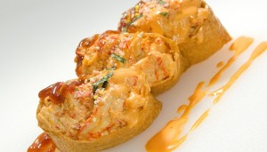 let's roll it lobster pocket inari