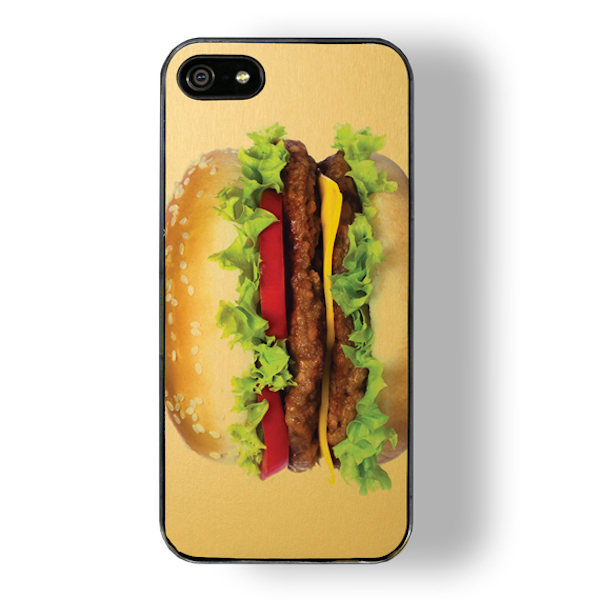 CHEESEBURGER  touch zero gravity iphone case