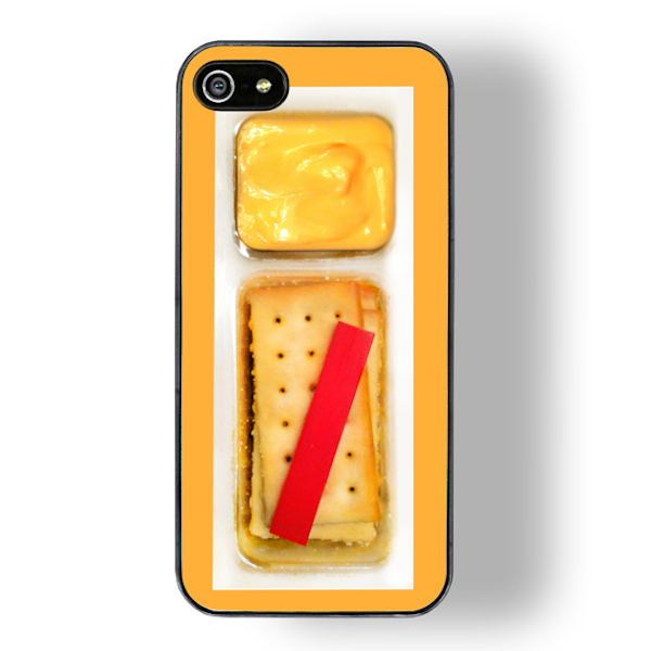 cheese and crackers touch zero gravity iphone case