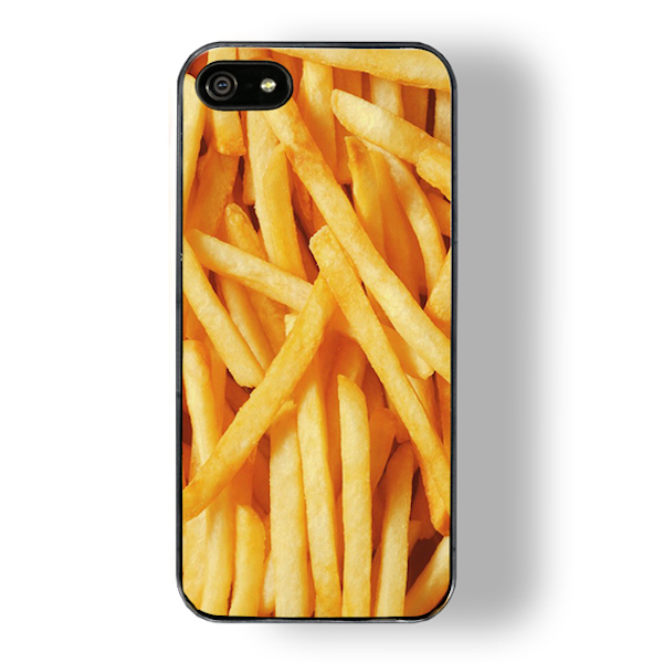french fries touch zero gravity iphone case