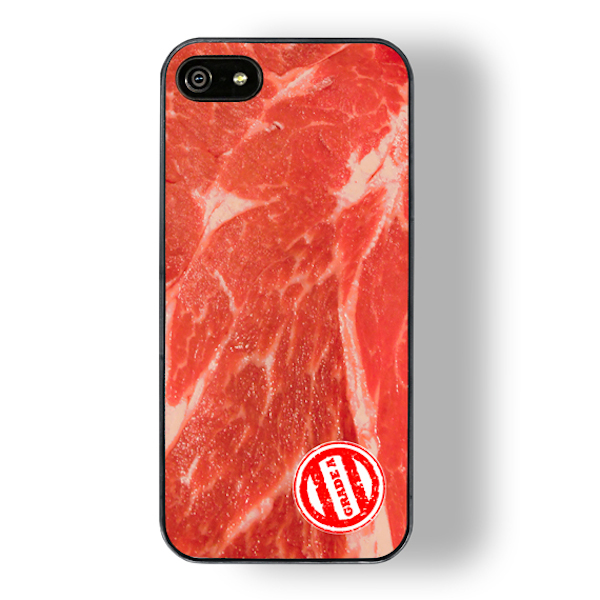grade a meat touch zero gravity iphone case