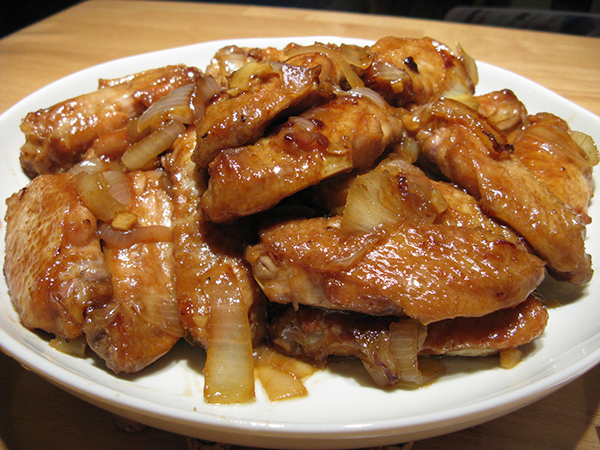 Honey Soy Sauce Wings