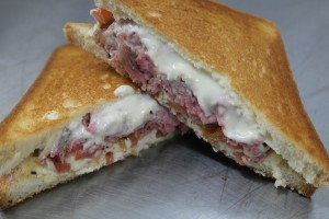 Grilled Cheese Truck Roast Beef Brie Melt