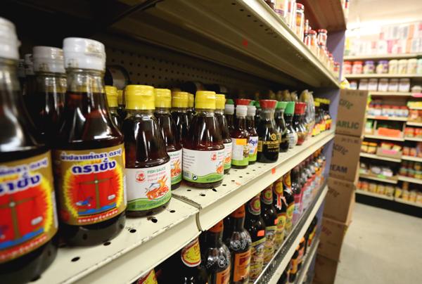 Sauce-Shelf