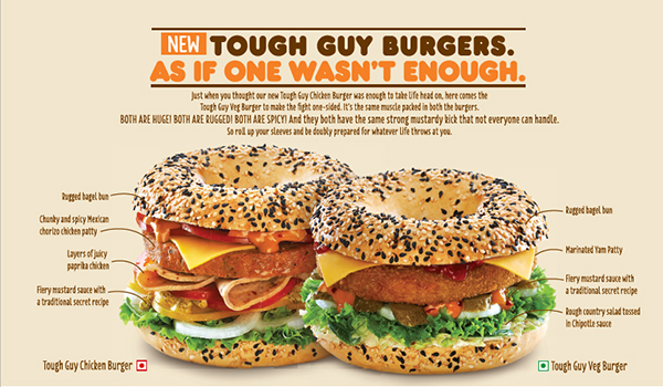 Tough Guy Burgers