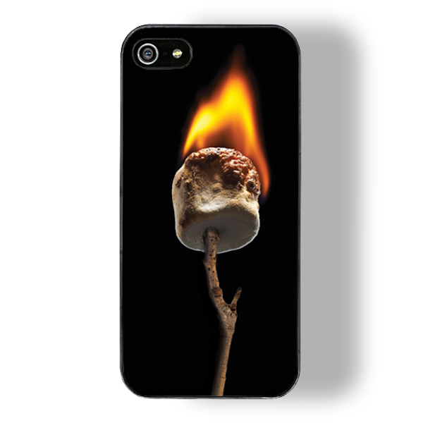 marshmallow smore touch zero gravity iphone case