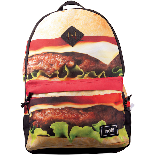 cheeseburger backpack neff