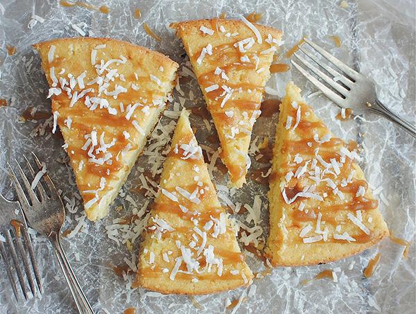 Coconut Milk Skillet Cake