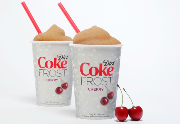 Diet Coke FROST cups