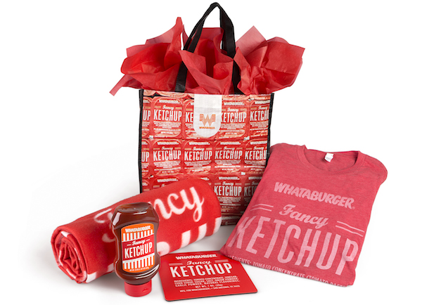 Whataburger Ketchup Bundle Valentines Day
