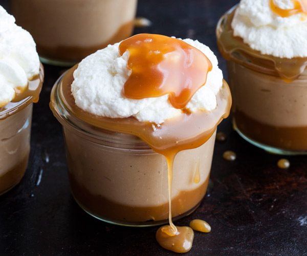 Salted Caramel Pudding