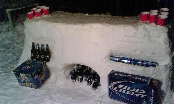 snow-pong