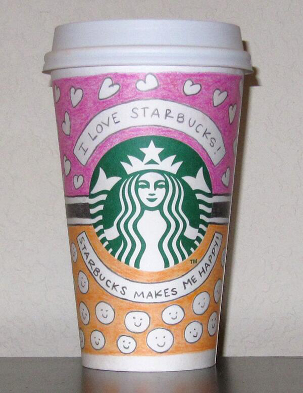 17 Of The Best Worst Awesomely Bad Starbucks Cup Art