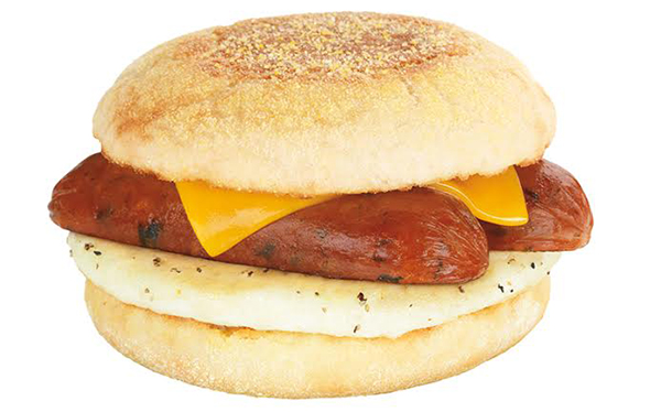 Dunkin' Donuts Releases Breakfast Sandwich with Chicken Apple Sausage