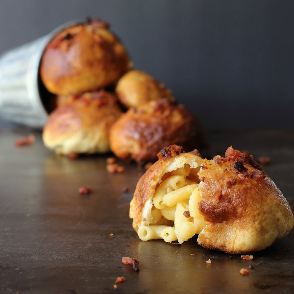 Mac and Cheese Pretzel Bites