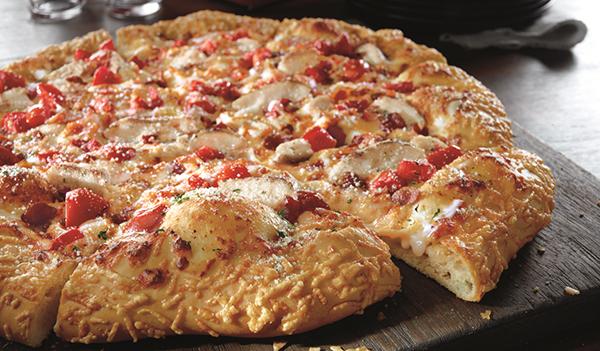 Pizza Hut Parm Garlic
