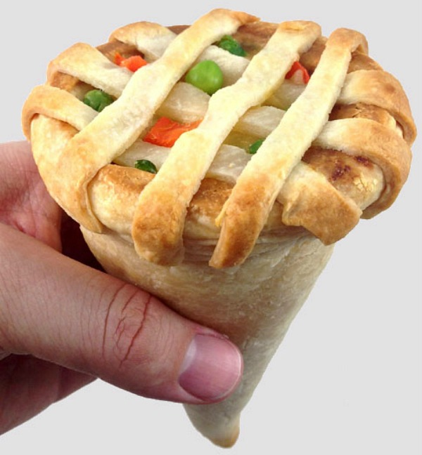 chicken-pot-pie-cone