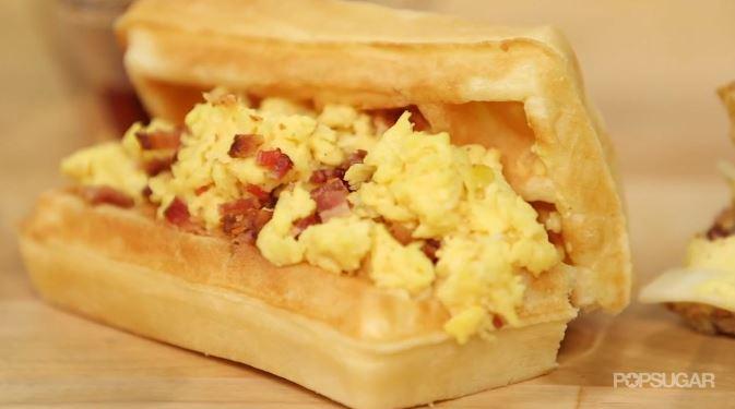 how-to-make-waffle-taco
