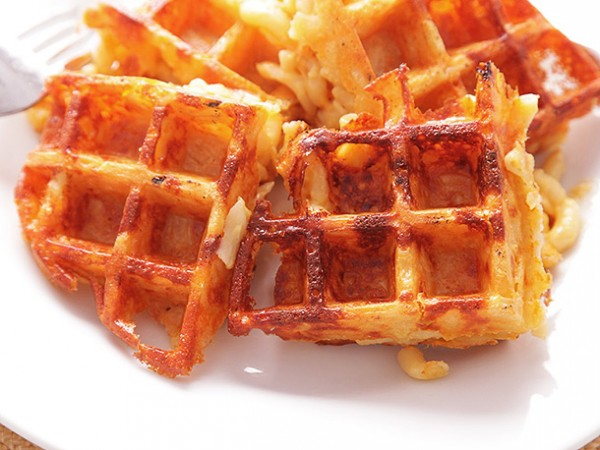 These Macaroni and Cheese Waffles are Perfect for any Meal