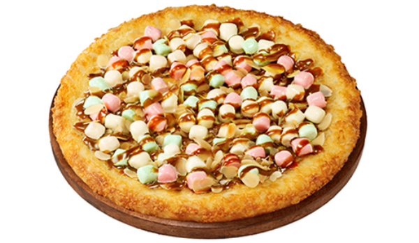 Caramel Pizza