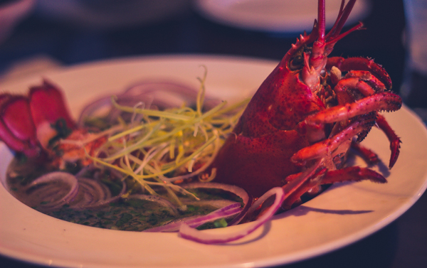 district one whole maine lobster pho