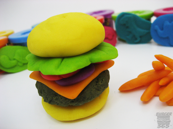 play doh cheeseburger. Black Bedroom Furniture Sets. Home Design Ideas