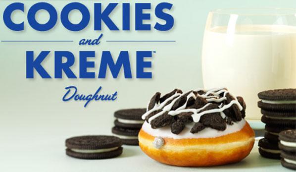 Krispy Kreme Oreo Doughnut Recipe Krispy Kreme Reveals Oreo