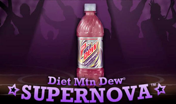 'Diet Mtn Dew Supernova' Becomes Newest Permanent Flavor