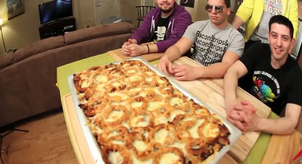 Epic Meal Time Makes a Fast Food Lasagna