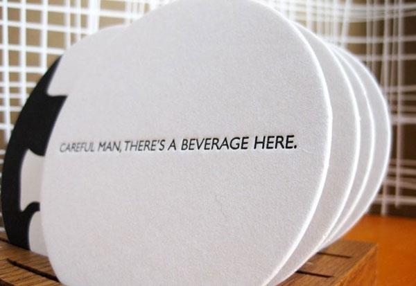 The Big Lebowski Paper Coasters