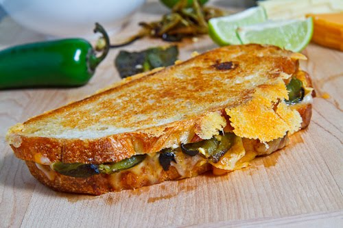 Jalapeno Popper Grill Cheese Sandwich