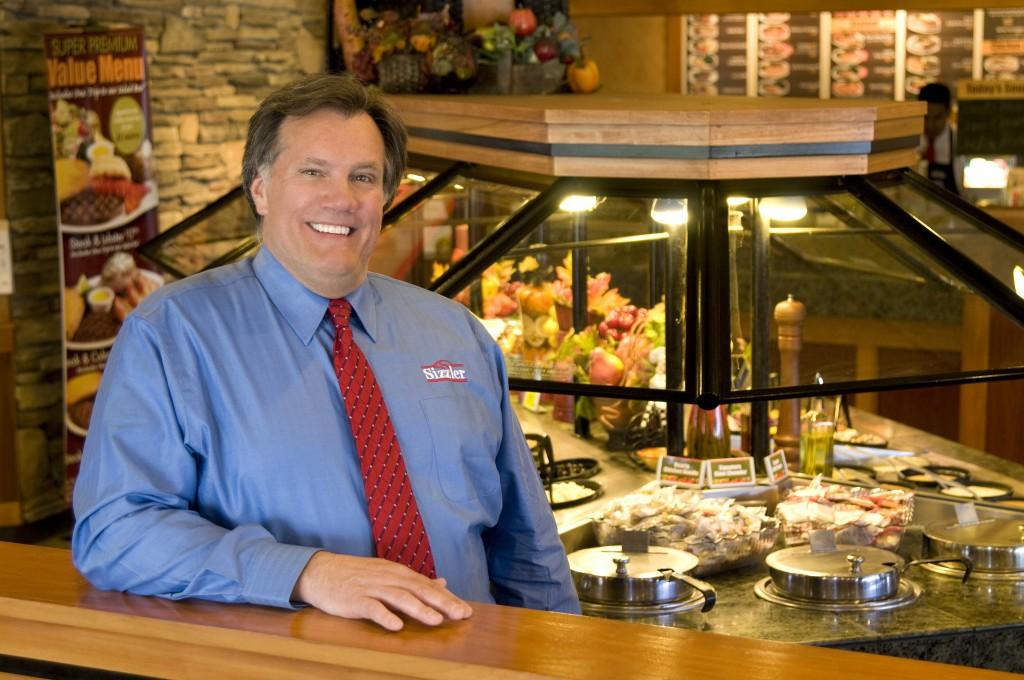 Kerry Kramp CEO Sizzler Salad Bar